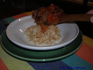 Yahni and Rice