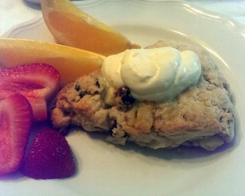 Cranberry, Apple and Walnut Scones
