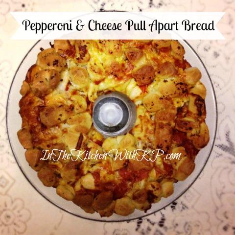 pepperoni pull apart bread