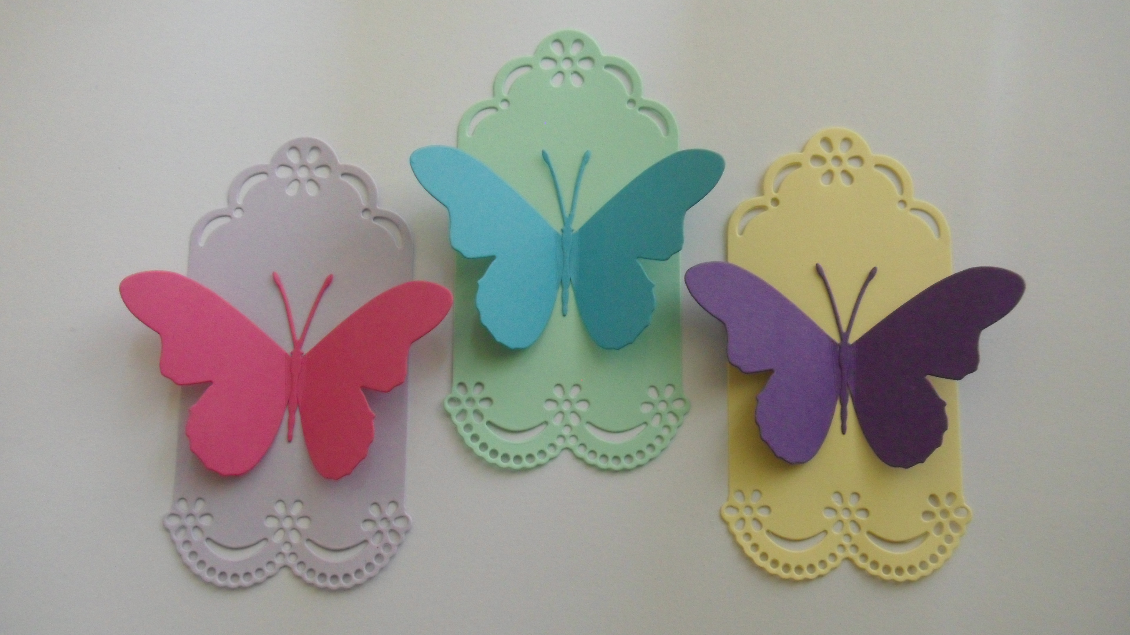 Paper Craft Butterfly Gift Envelopes