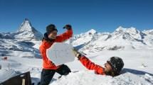 World Biggest Igloo Completed Zermatt Inthesnow