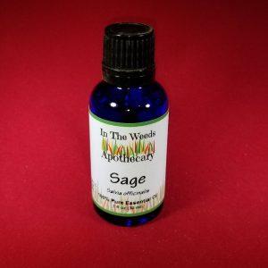 Sage Essential Oil, 1 oz.