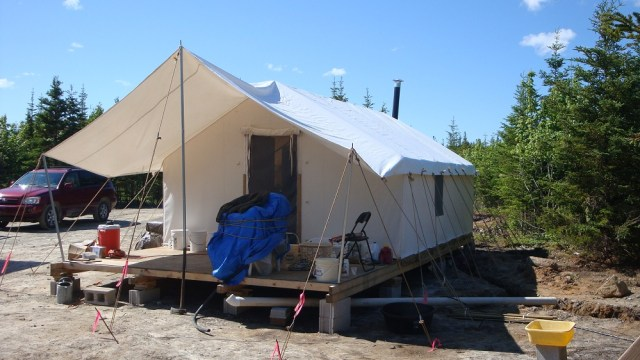 Wall Tent, Our Temporary Home - Off Grid and Free: My Path