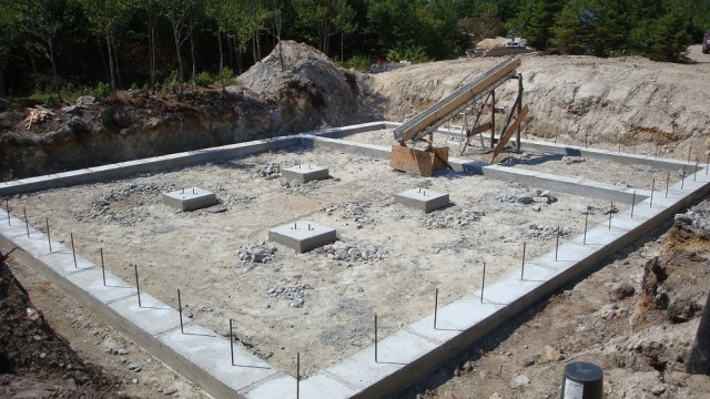Footings are Done