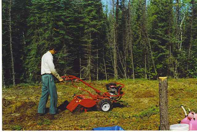 Garden Rototilling in Saskatchewan
