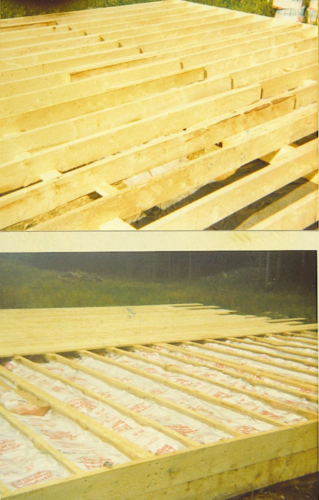 Maine Home Floor Framing