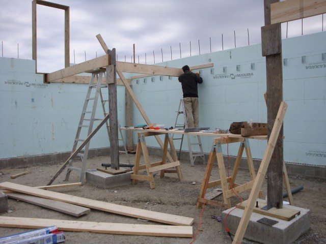 Nova Scotia ICF Floor Framing 1