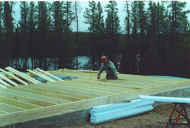 Saskatchewan Home Floor Framing