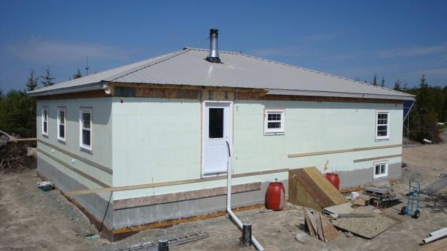New House in Nova Scotia