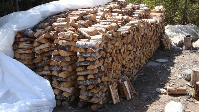 Start on Year's Firewood