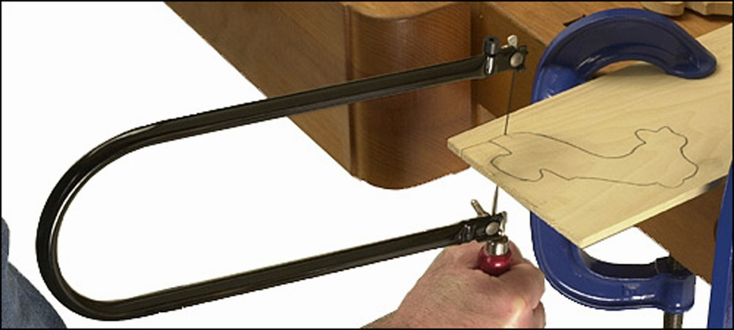 Coping Saw Use