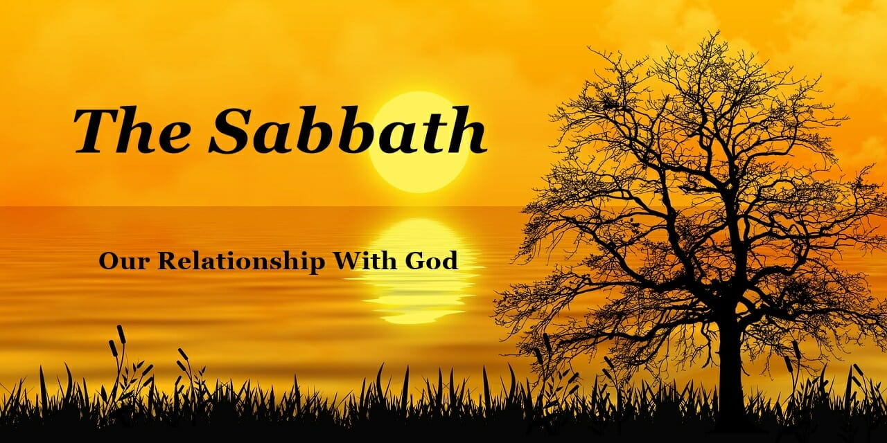 The Sabbath – Bible Verses About Church
