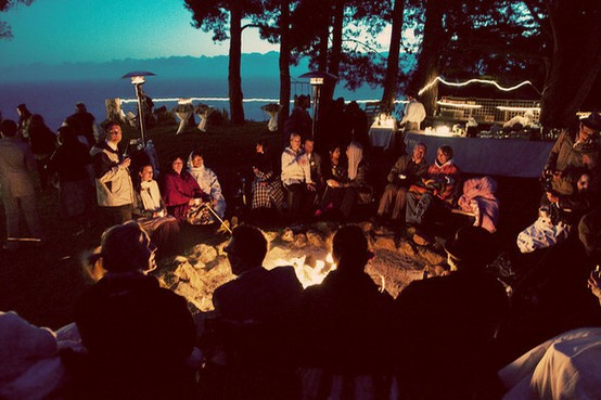 Rustic Fall Wallpaper Camp Out Wedding