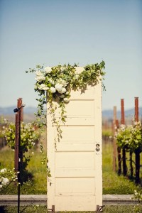 Vintage Door Wedding Decor