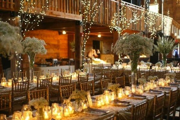 Barn Weddings Reception Seating