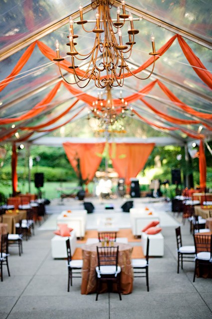 Outdoor Wedding Venues: The Clear Tent