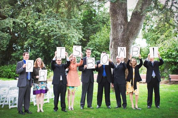 Real Weddings Prairie & Andris' San Fran Garden Wedding