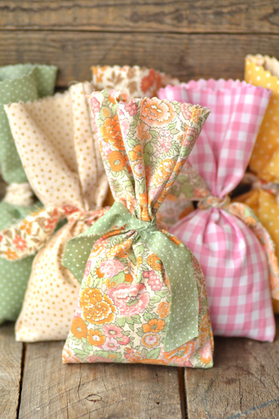 Easy No-sew DIY Lavander Sachet