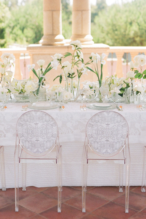 Wedding Seating Trends Ghost Chairs