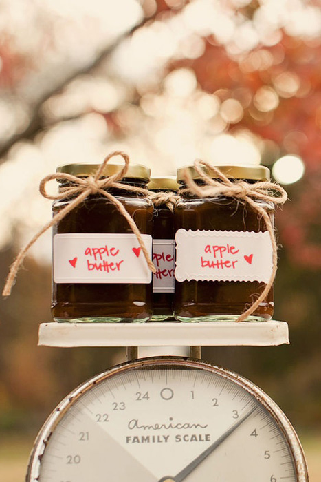 Fall Wedding Favors Diy