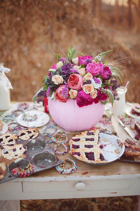 Elegant Pumpkin Wedding Decor Ideas