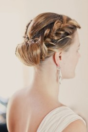 bridal updos with edge