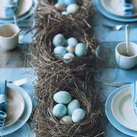 Love Nests: Simple DIY Centerpieces