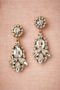 Statement Earrings for Your Wedding Day