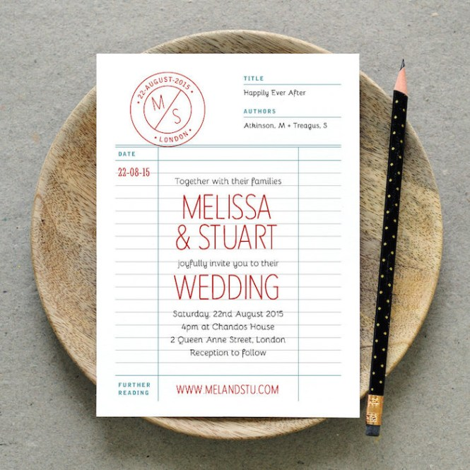 Book Themed Wedding Invitations Specially Created For Your Invitation Cards Card Design 7