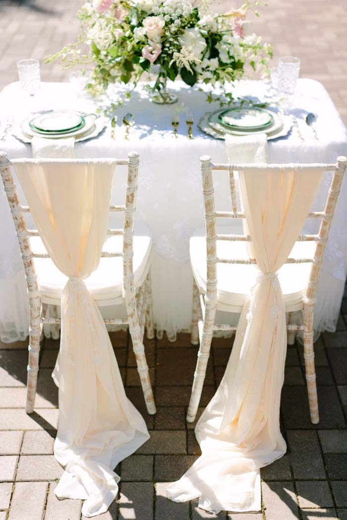 ruffle chair sashes hanging cover 10 ways to add wow your wedding chairs