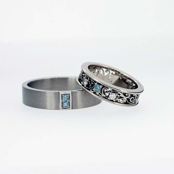 10 Unique Wedding Bands for the Groom