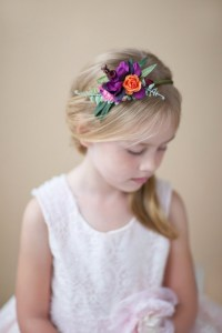 12 Adorable Flower Girl Hair Accessories | Intimate ...