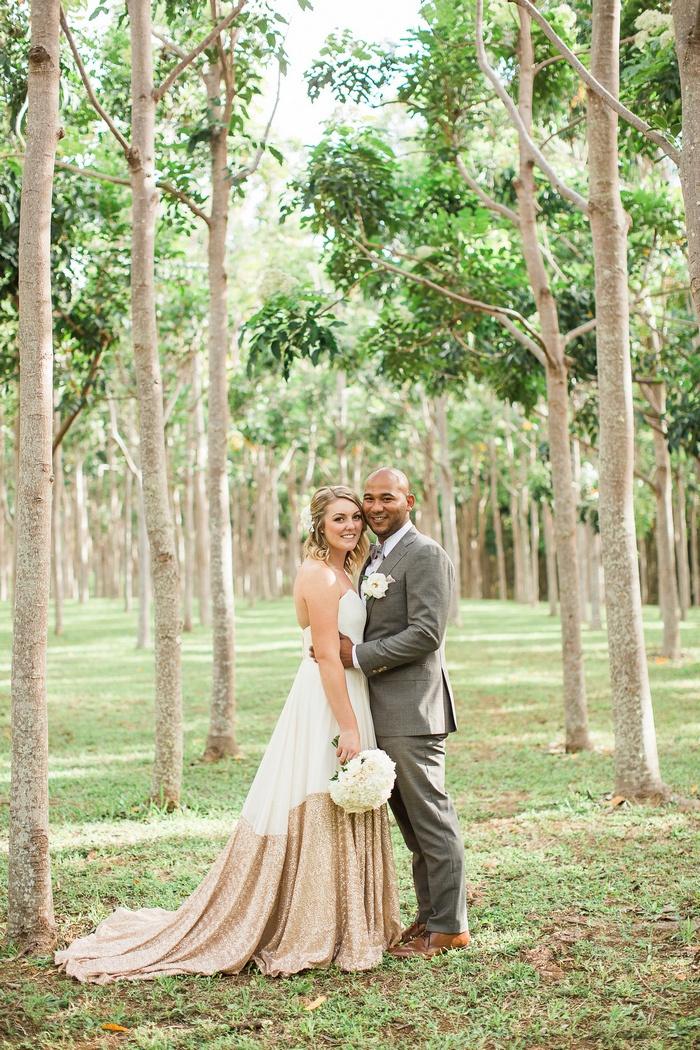 Caitlin And Shawn S Kauai Botanical Gardens Elopement