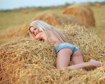 любов в сеното
