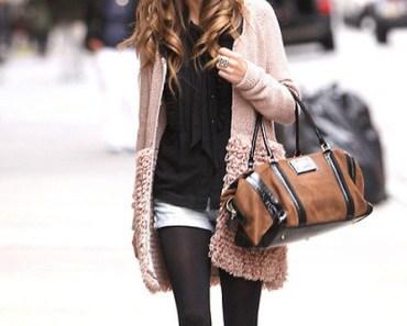 избор на дамска чанта според материала и цвета