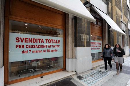 Commercio al dettaglio dal 2009 a oggi in Italia 13mila