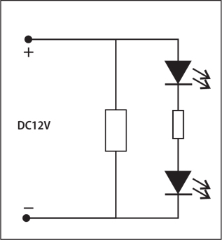 Summit 1x2 LED Sign Module