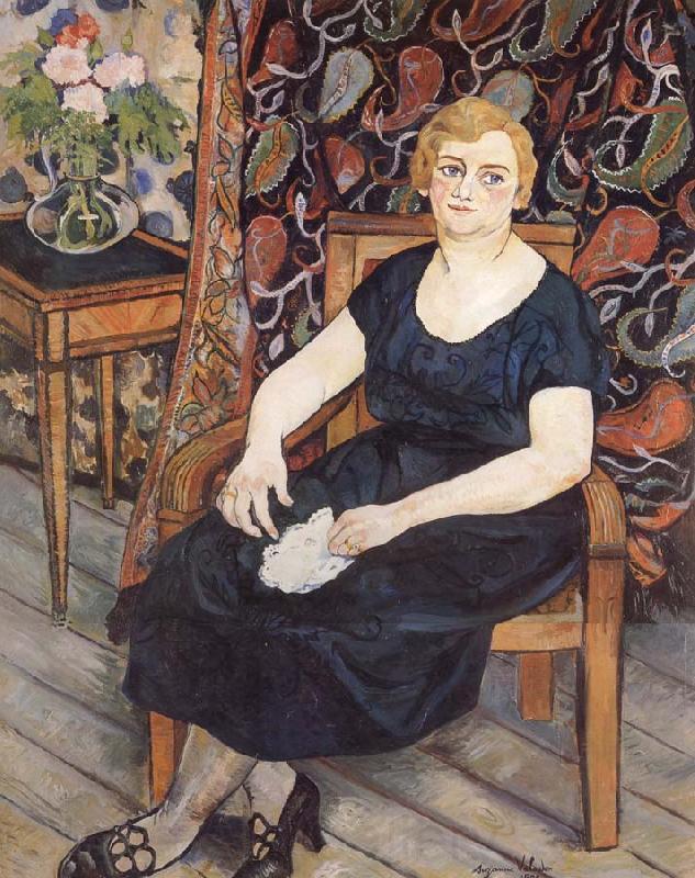 Suzanne Valadon Madame Levy