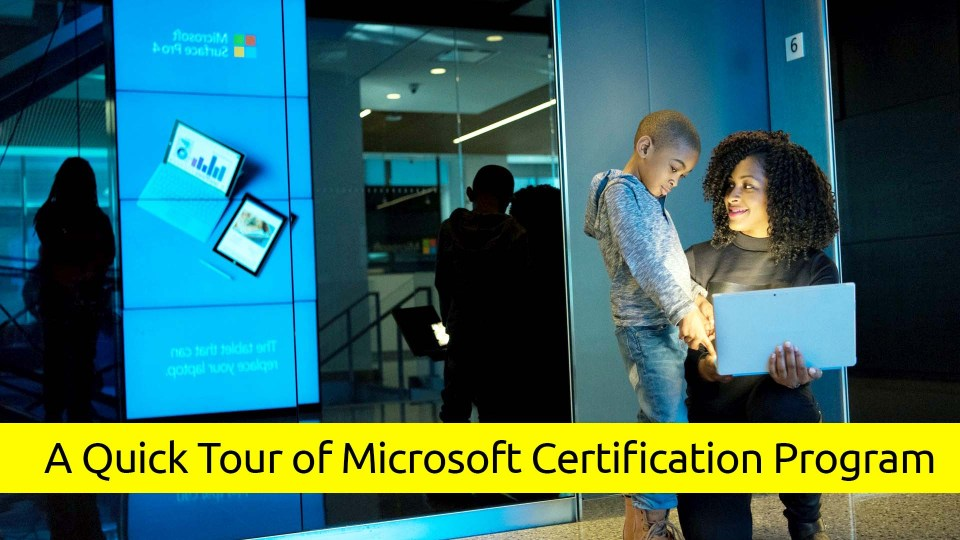 A Quick Tour of Microsoft Certification Program