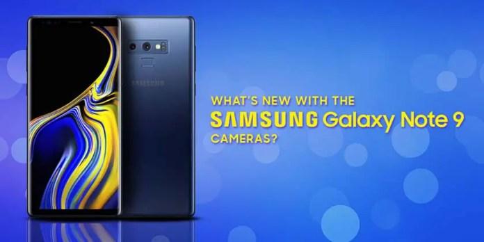 Fortnite of Samsung Galaxy Note 9