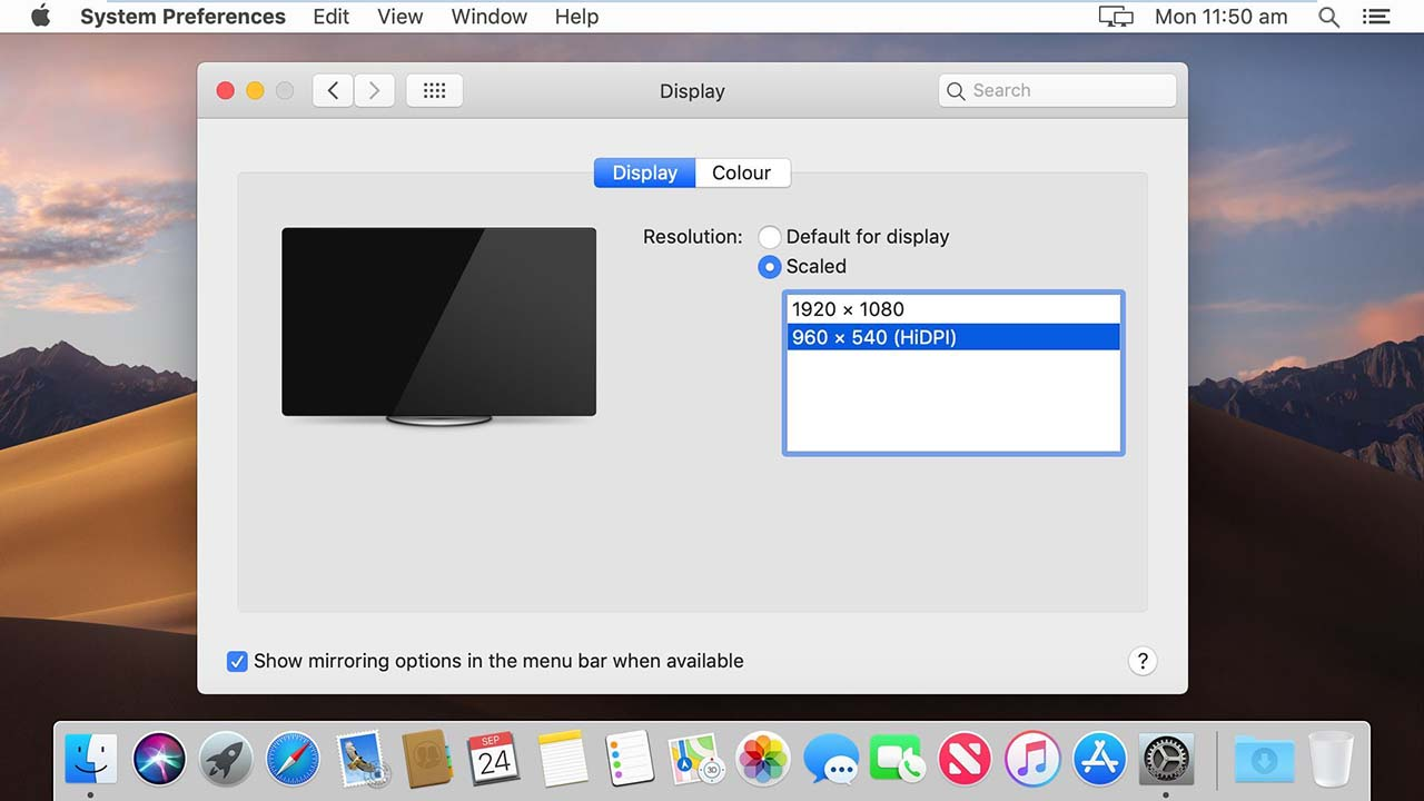 How to Fix macOS Mojave Screen Resolution on VMware