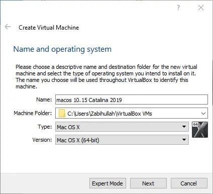 How to Install macOS 10 15 Catalina on VirtualBox on Windows