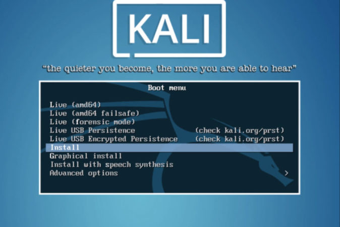 Dual Boot macOS Catalina and Kali Linux