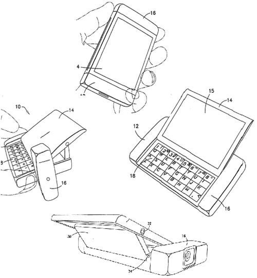 Nokia files patent for side-sliding mobile phone with