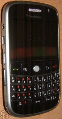 BlackBerry 9000 in the wild - RIM likes iPhone style
