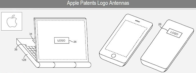 Apple patents hiding an antenna behind a product logo [Was