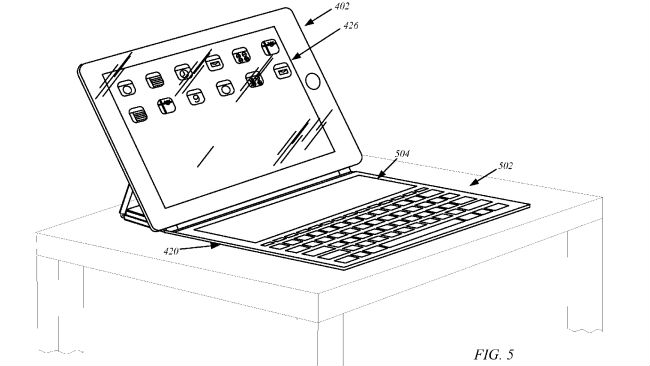 Apple smart cover patent would give the iPad secondary display