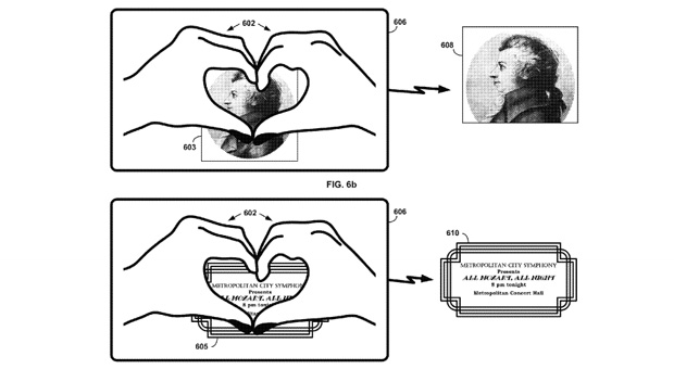 Google Patents Heart Shaped Hand Gesture, Will Let Glass