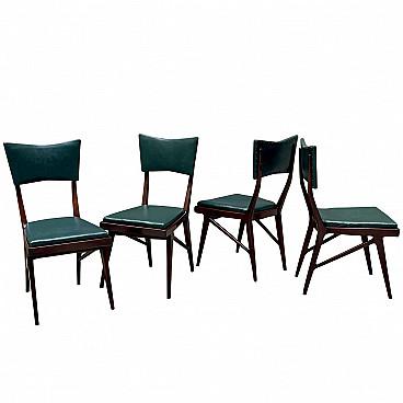sedie marroni con schienale alto anni '80 Qj5xjdy6aa8ojm