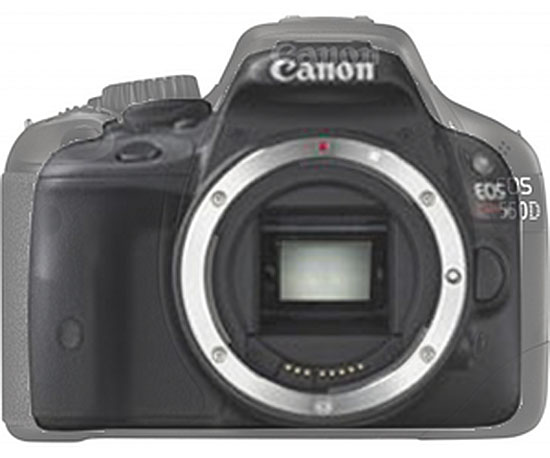 First Leaked Photos of the Ultra Portable Canon EOS b/Kiss X7 canoneosb2